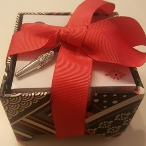 NWT Vera Bradley Note Cube and Pen